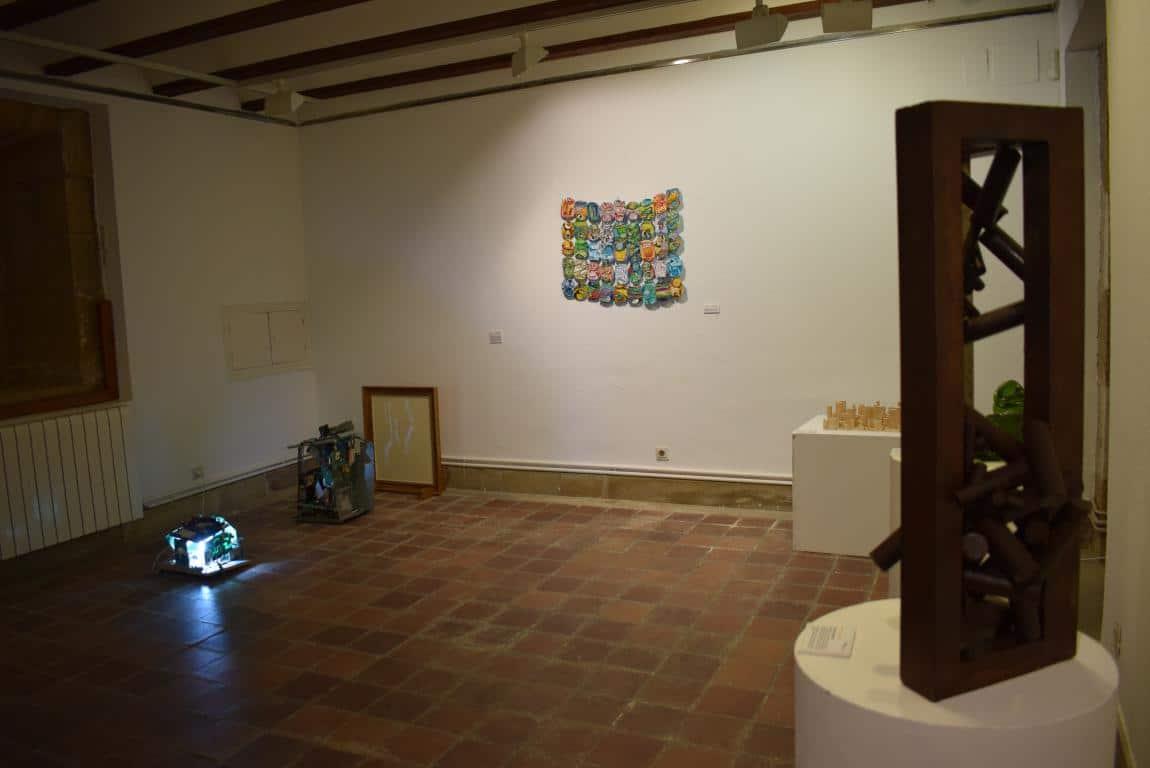 La exposición 'TranformARTE', hasta el 18 de mayo en el Centro Fundación Caja Rioja-Bankia de Haro 2