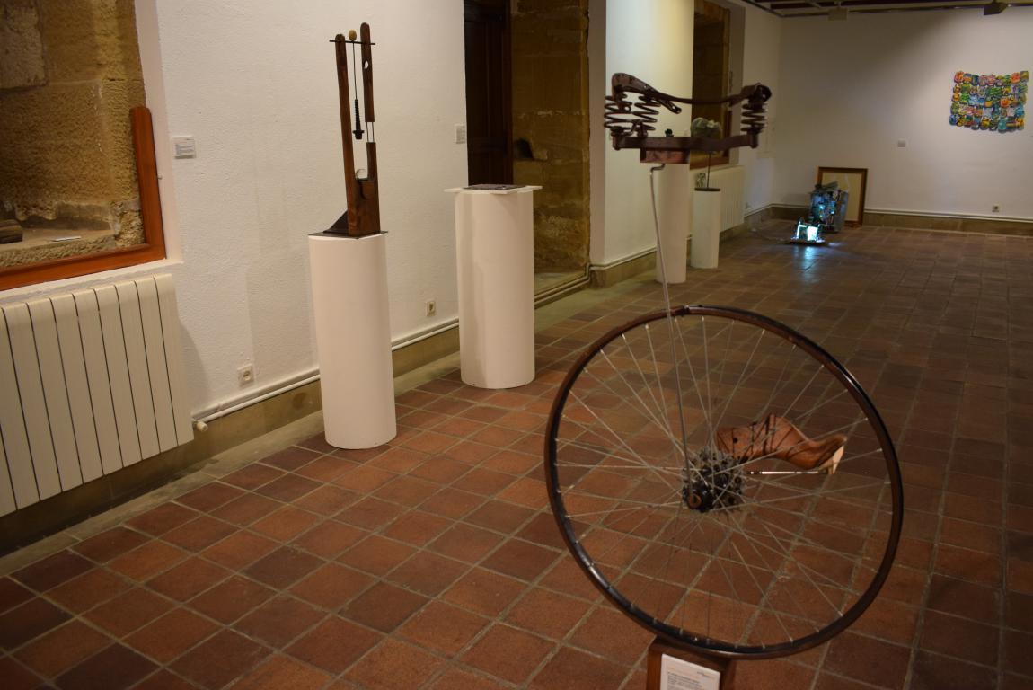 La exposición 'TranformARTE', hasta el 18 de mayo en el Centro Fundación Caja Rioja-Bankia de Haro 5