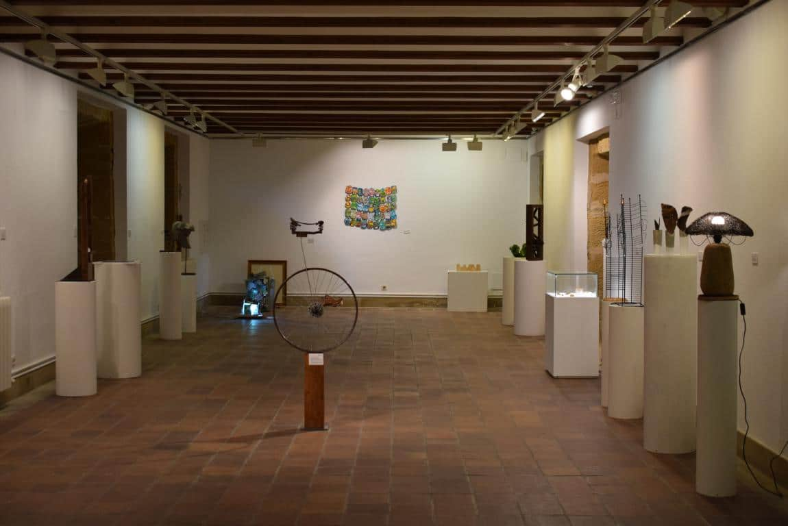 La exposición 'TranformARTE', hasta el 18 de mayo en el Centro Fundación Caja Rioja-Bankia de Haro 8