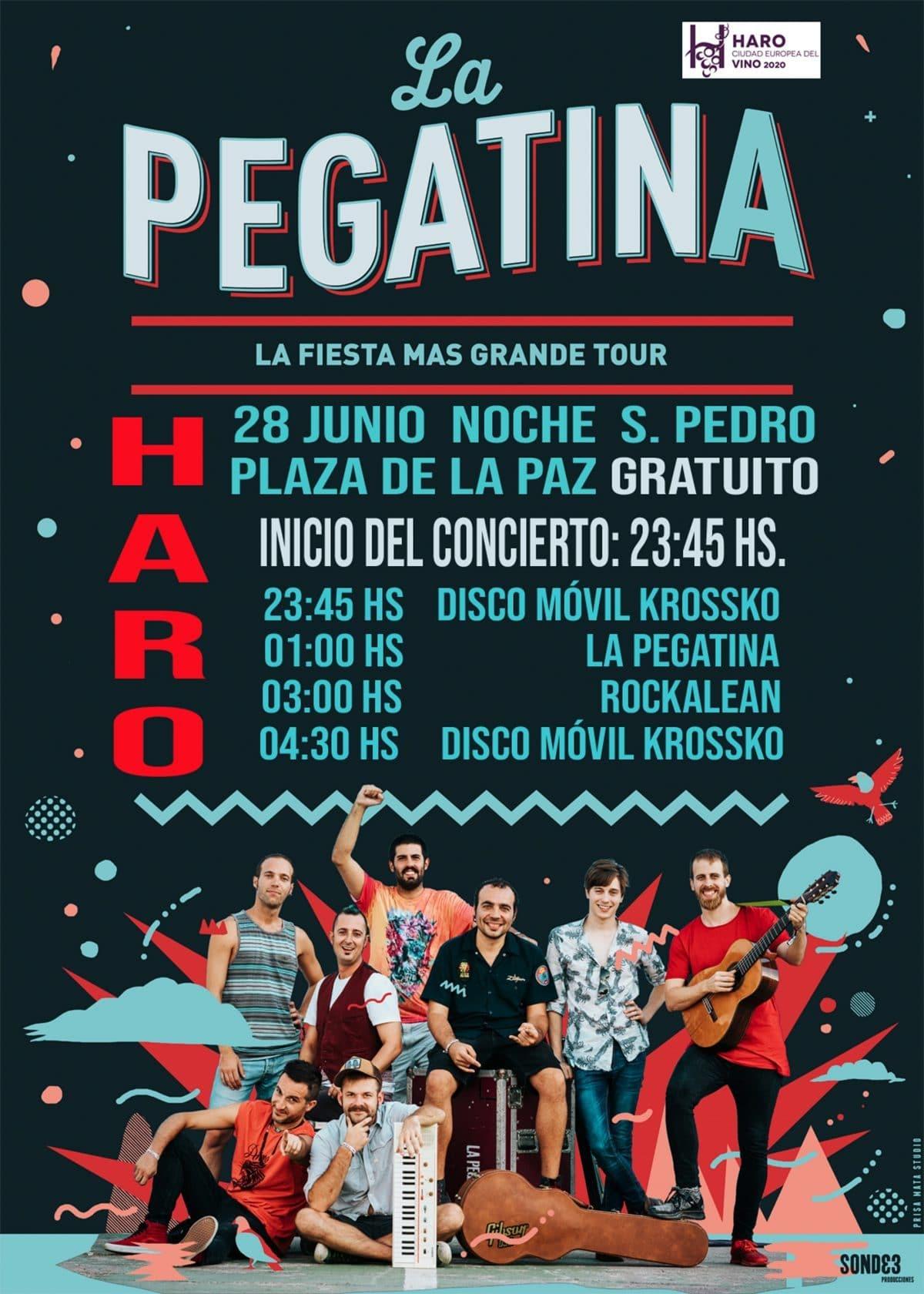 'La Pegatina', concierto estelar de las fiestas de junio en Haro 2