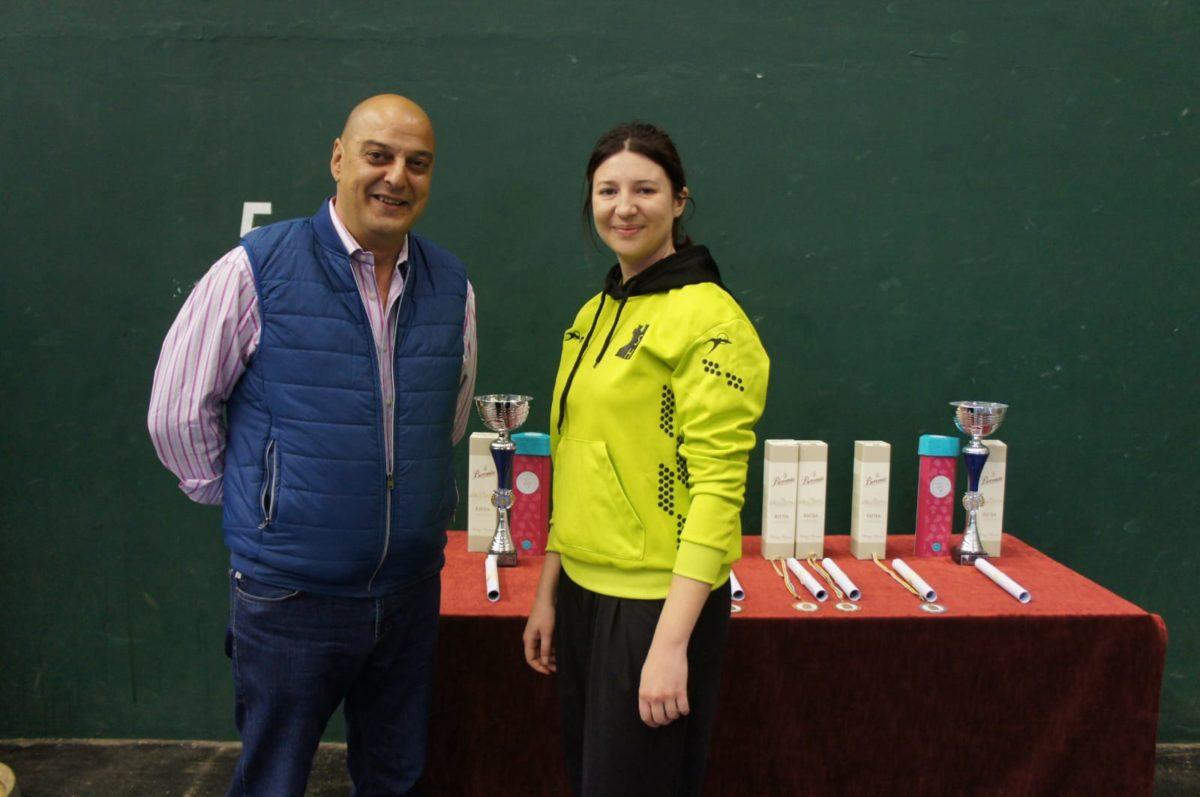 Roberto Codón y Jessica del Campo, ganadores del VI Torneo Ciudad de Haro de Esgrima 6
