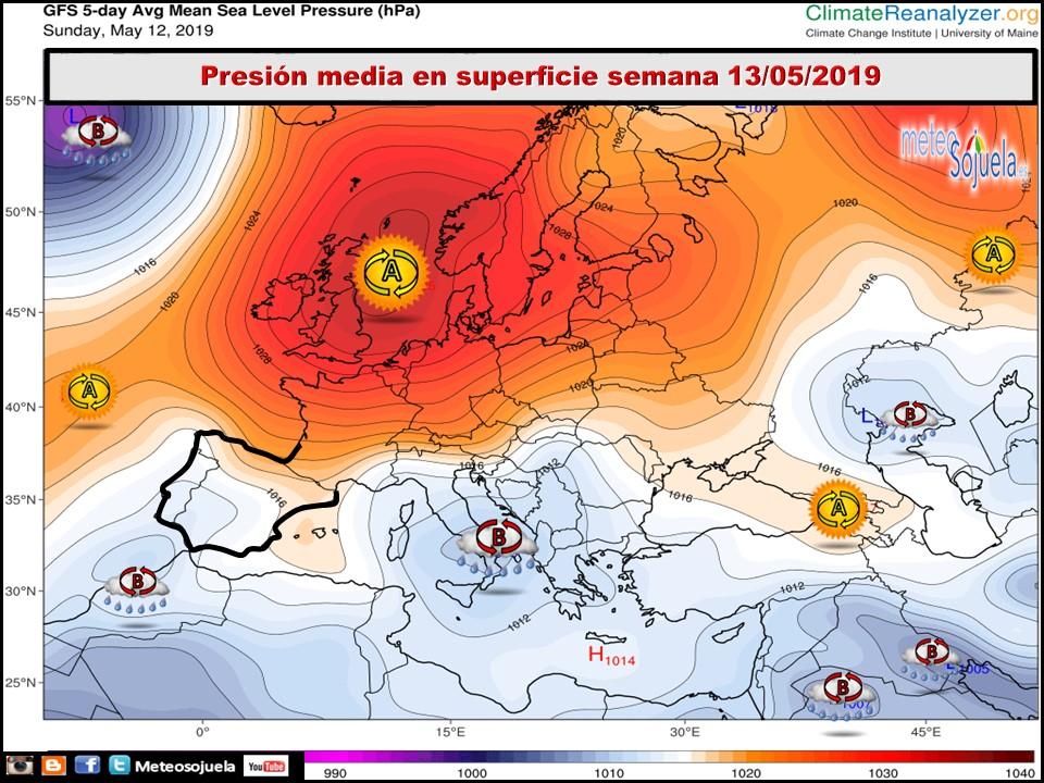 Semana de contrastes en La Rioja Alta: inicio 'idílico' y fin de semana con mal tiempo 3