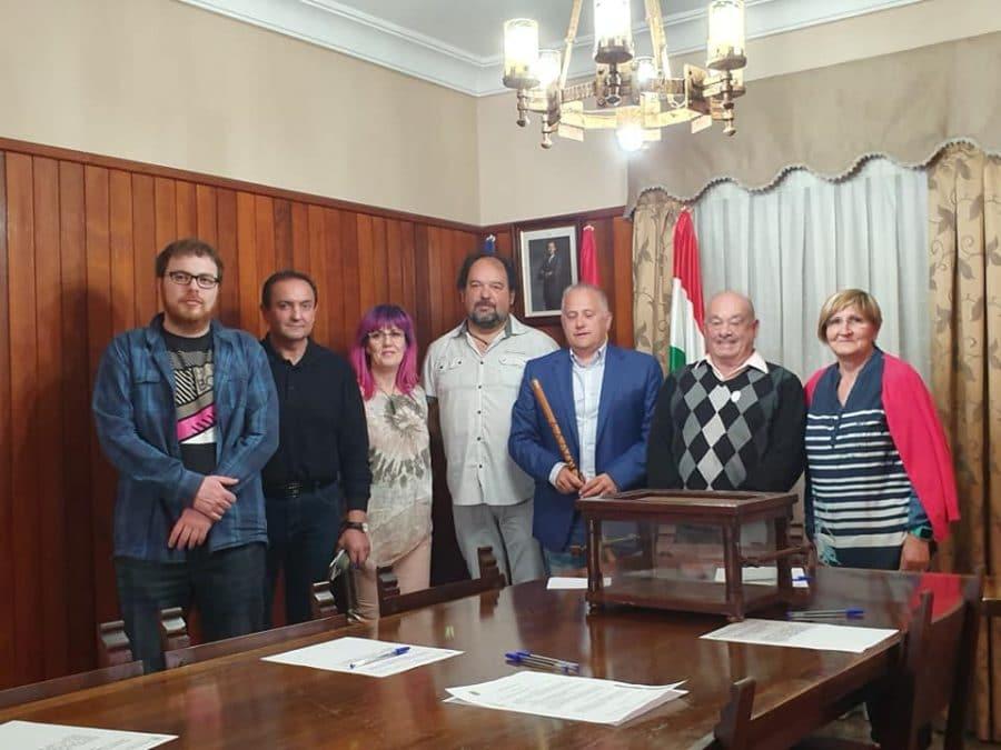 Javier Ruiz, nuevo alcalde de Santo Domingo, y Jonás Olarte, reelegido en Nájera 4