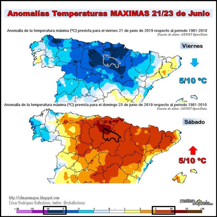 La Rioja estará este domingo en aviso amarillo por altas temperaturas 2