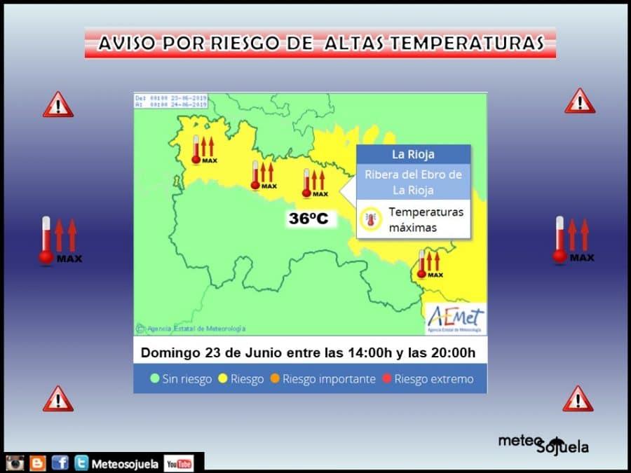 La Rioja estará este domingo en aviso amarillo por altas temperaturas 3