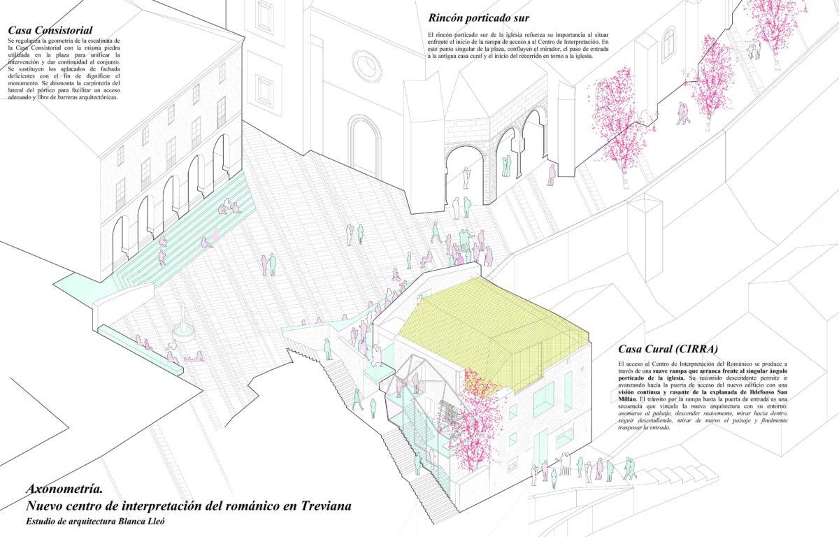 Blanca Lleó presenta este jueves su proyecto del Centro de Interpretación del Románico de Treviana 2