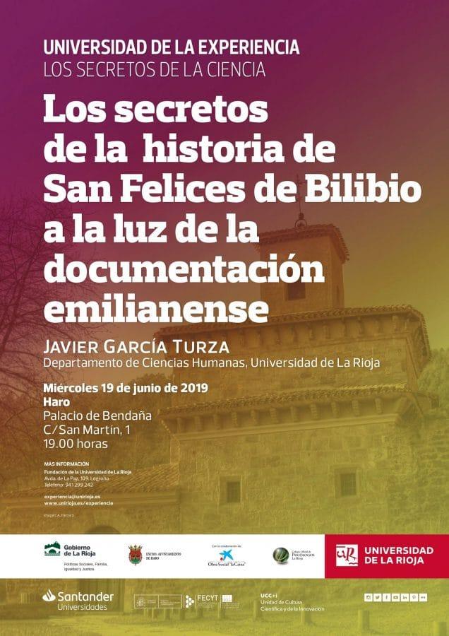 García Turza ofrecerá en Haro la conferencia sobre los secretos de la historia de San Felices de Bilibio 1