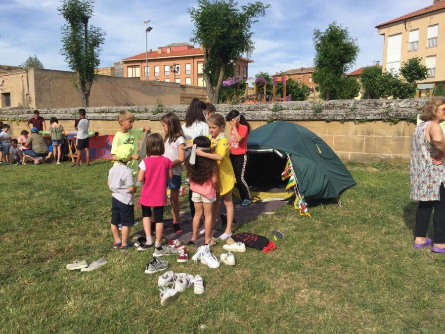 Casalarreina y el Grupo Scout Ghembres muestran su apoyo a Proyecto Hombre 1