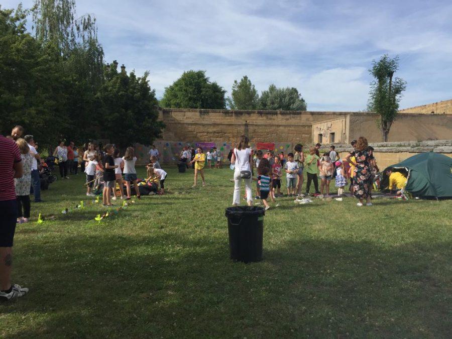 Casalarreina y el Grupo Scout Ghembres muestran su apoyo a Proyecto Hombre 3