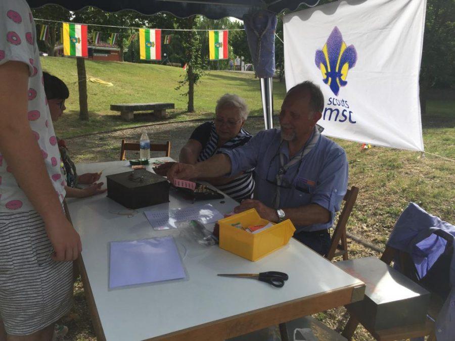 Casalarreina y el Grupo Scout Ghembres muestran su apoyo a Proyecto Hombre 5