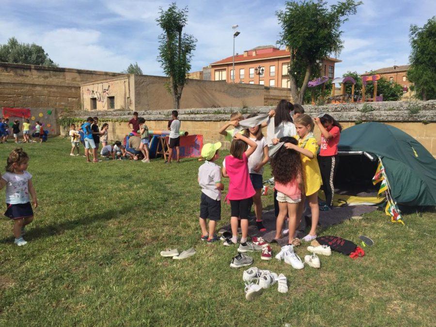 Casalarreina y el Grupo Scout Ghembres muestran su apoyo a Proyecto Hombre 8
