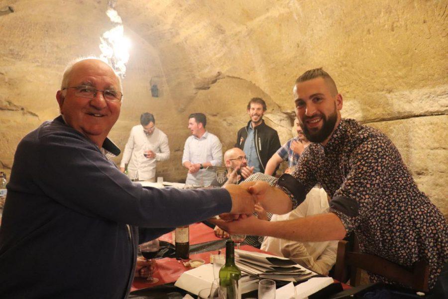 Facu Ballardo recibe el premio Jugador Estrella del Skuadron 11