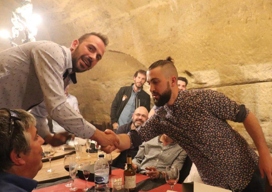 Facu Ballardo recibe el premio Jugador Estrella del Skuadron 15