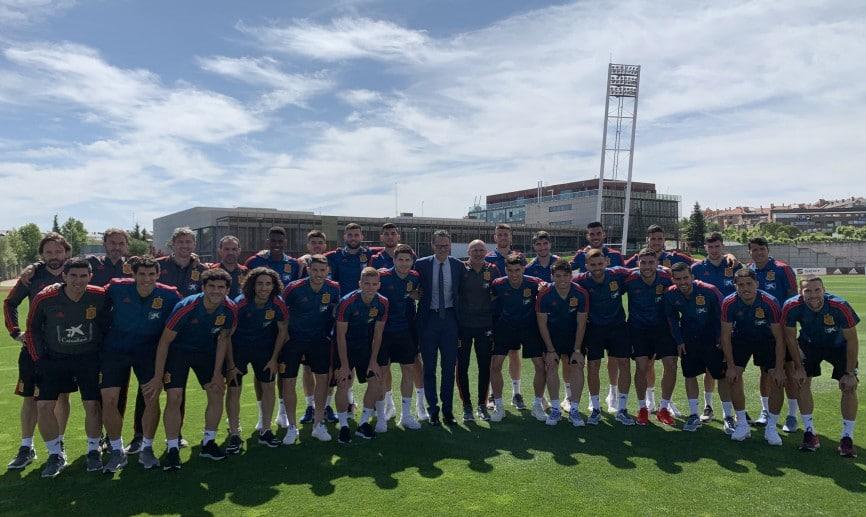 Charla de motivación y liderazgo de Fernando Riaño a la Selección Española Sub-21 1