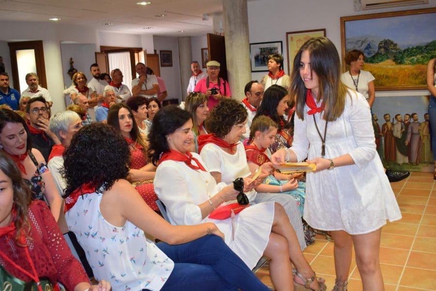 Reconocimiento de la Cofradía de San Felices al Haro Deportivo y a la Agrupación de Cornetas y Tambores 2