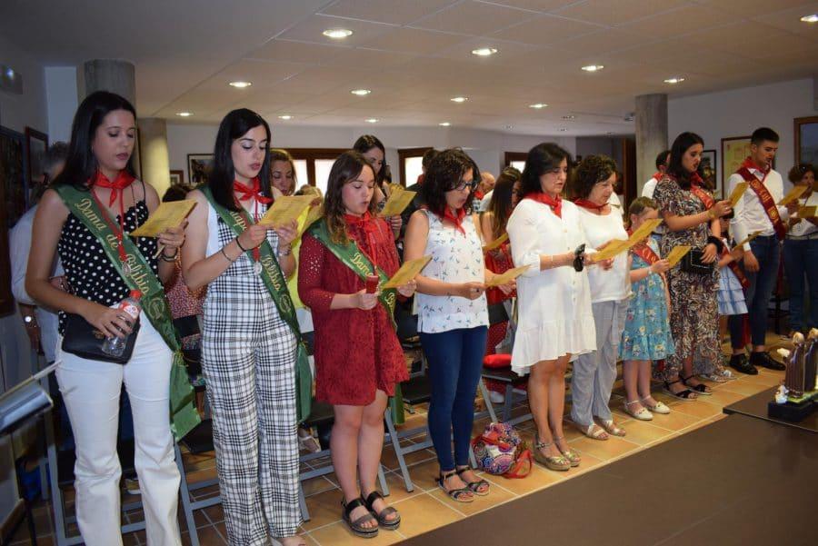 Reconocimiento de la Cofradía de San Felices al Haro Deportivo y a la Agrupación de Cornetas y Tambores 4