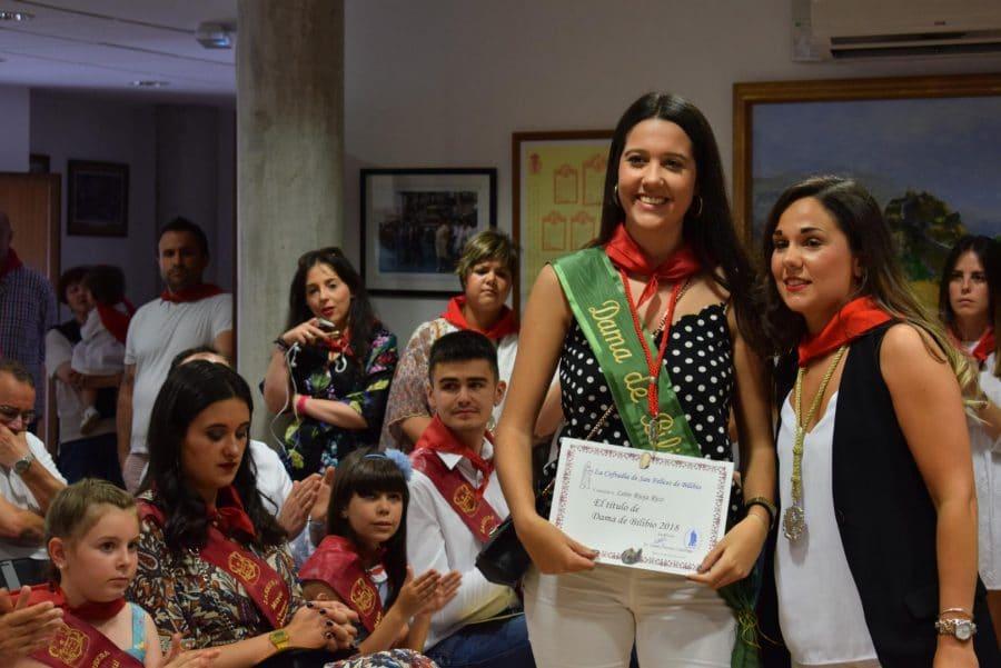 Reconocimiento de la Cofradía de San Felices al Haro Deportivo y a la Agrupación de Cornetas y Tambores 7