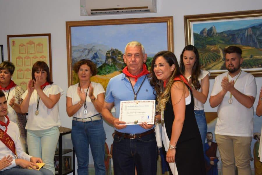 Reconocimiento de la Cofradía de San Felices al Haro Deportivo y a la Agrupación de Cornetas y Tambores 10