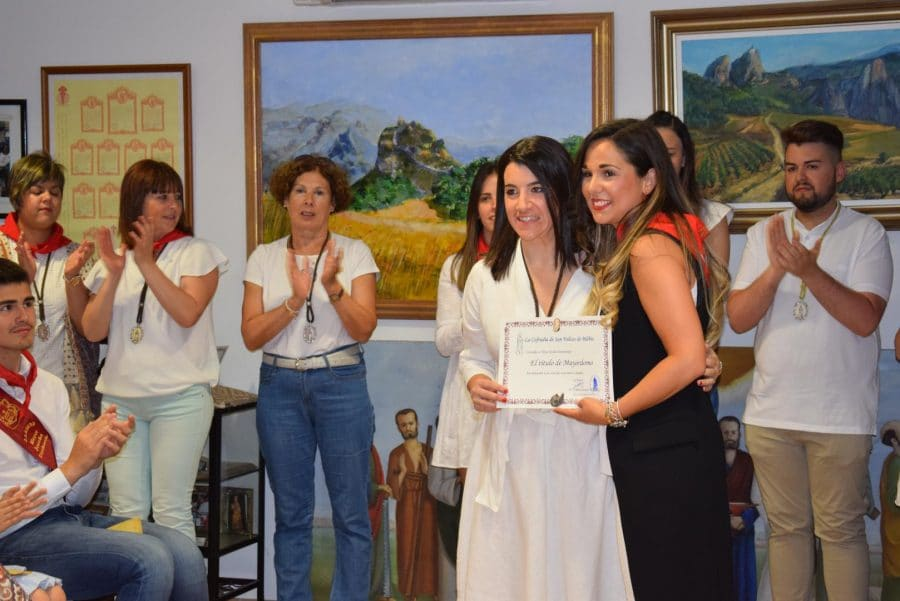 Reconocimiento de la Cofradía de San Felices al Haro Deportivo y a la Agrupación de Cornetas y Tambores 12