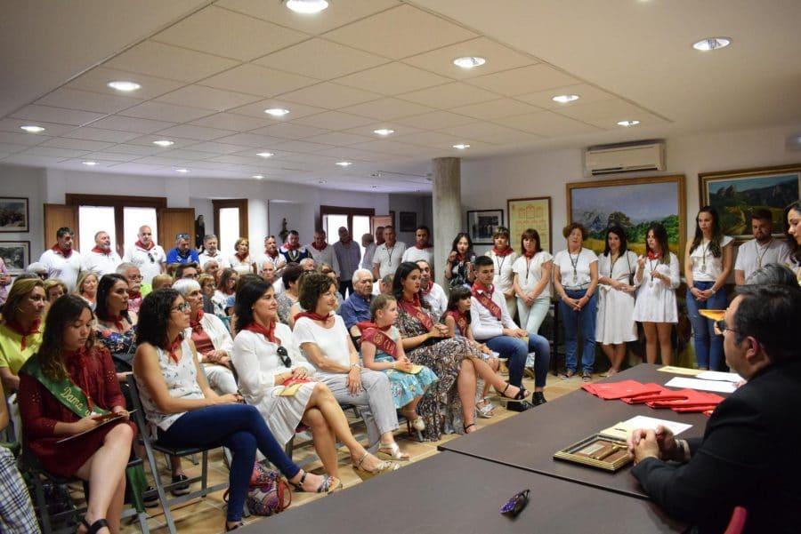 Reconocimiento de la Cofradía de San Felices al Haro Deportivo y a la Agrupación de Cornetas y Tambores 14