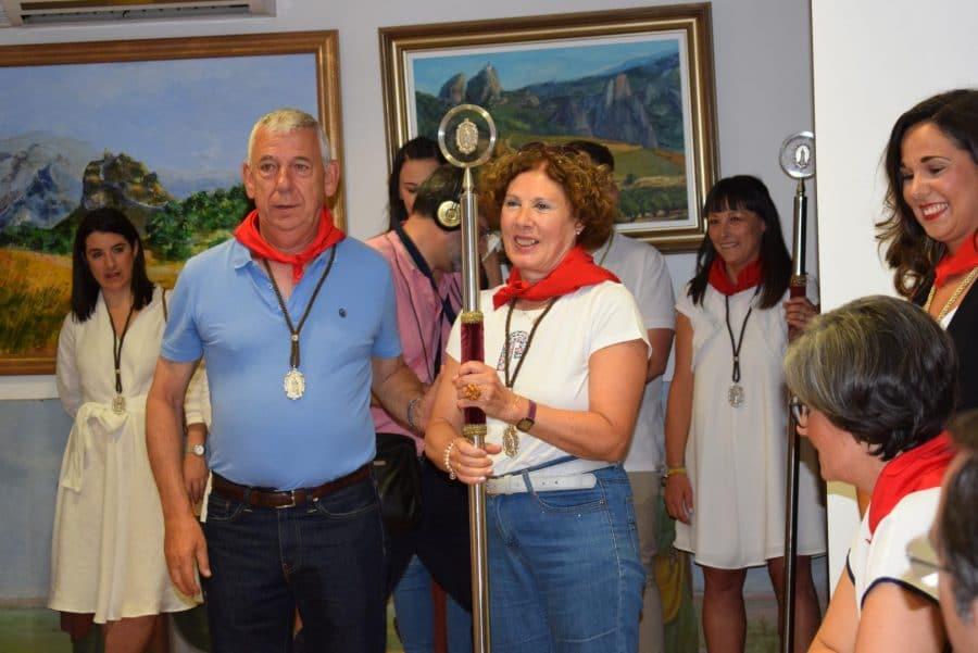 Reconocimiento de la Cofradía de San Felices al Haro Deportivo y a la Agrupación de Cornetas y Tambores 18