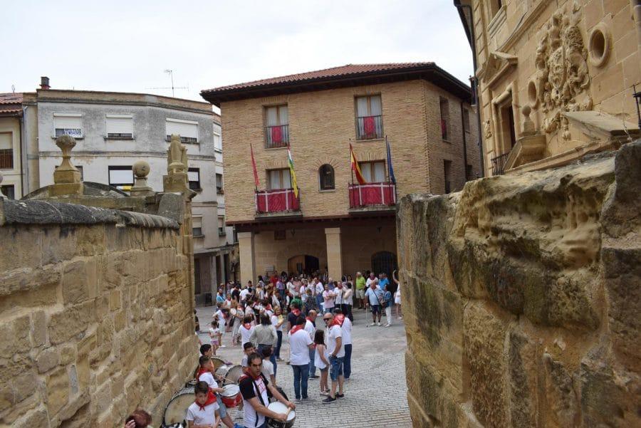 Reconocimiento de la Cofradía de San Felices al Haro Deportivo y a la Agrupación de Cornetas y Tambores 22