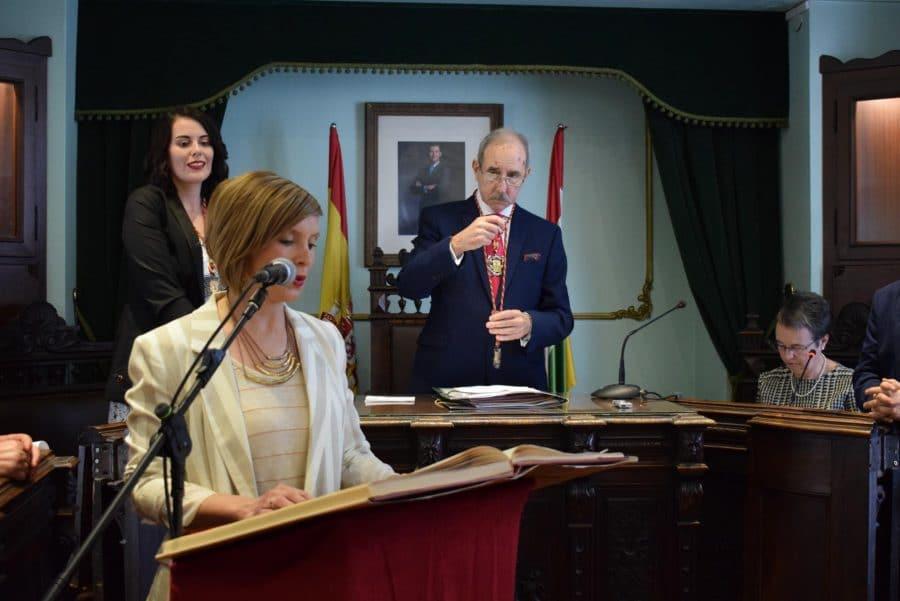 FOTOS: Las imágenes del pleno de constitución del Ayuntamiento de Haro 17