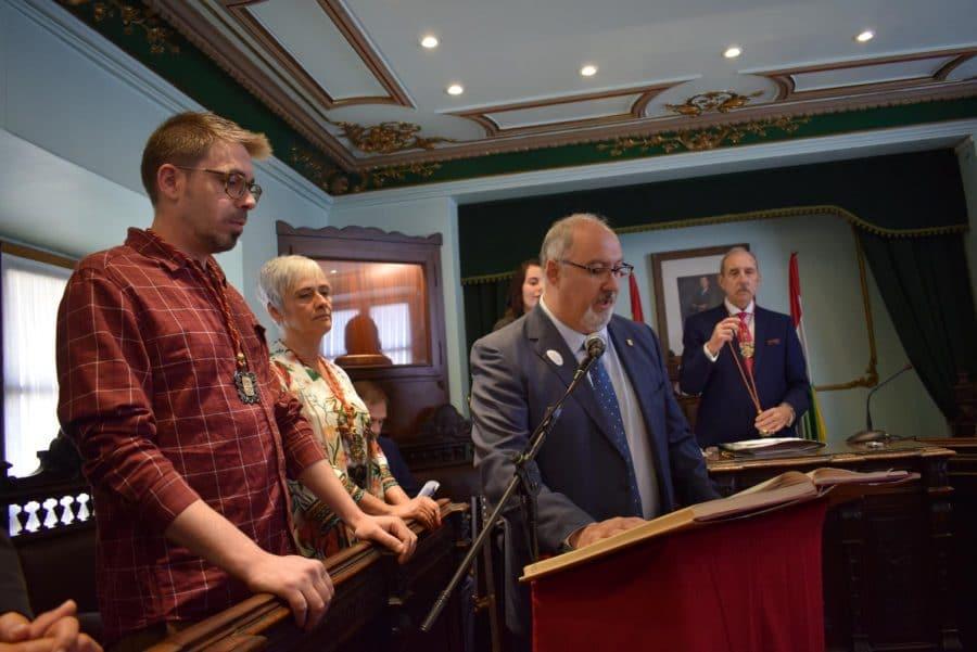 FOTOS: Las imágenes del pleno de constitución del Ayuntamiento de Haro 19