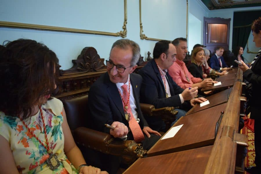 FOTOS: Las imágenes del pleno de constitución del Ayuntamiento de Haro 23