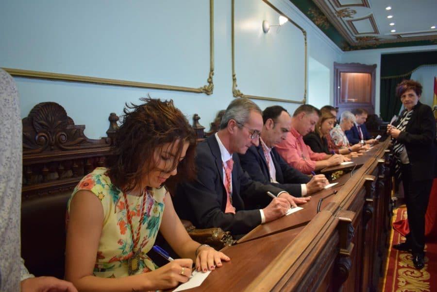 FOTOS: Las imágenes del pleno de constitución del Ayuntamiento de Haro 25