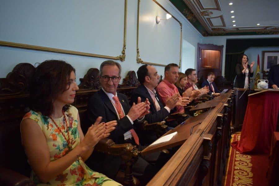 FOTOS: Las imágenes del pleno de constitución del Ayuntamiento de Haro 32