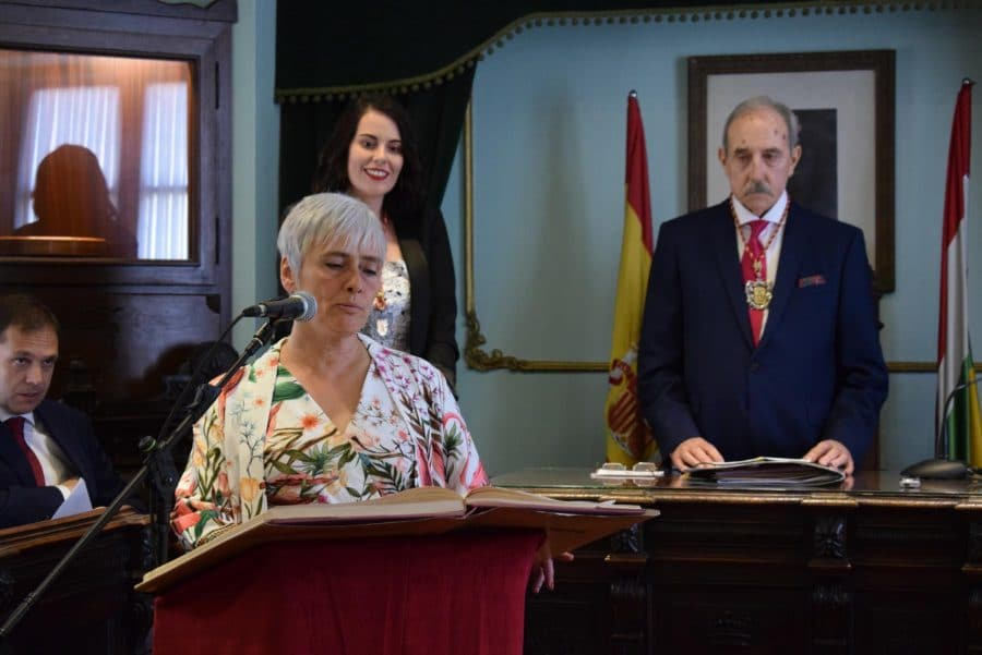 FOTOS: Las imágenes del pleno de constitución del Ayuntamiento de Haro 7