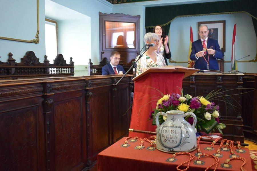 FOTOS: Las imágenes del pleno de constitución del Ayuntamiento de Haro 8