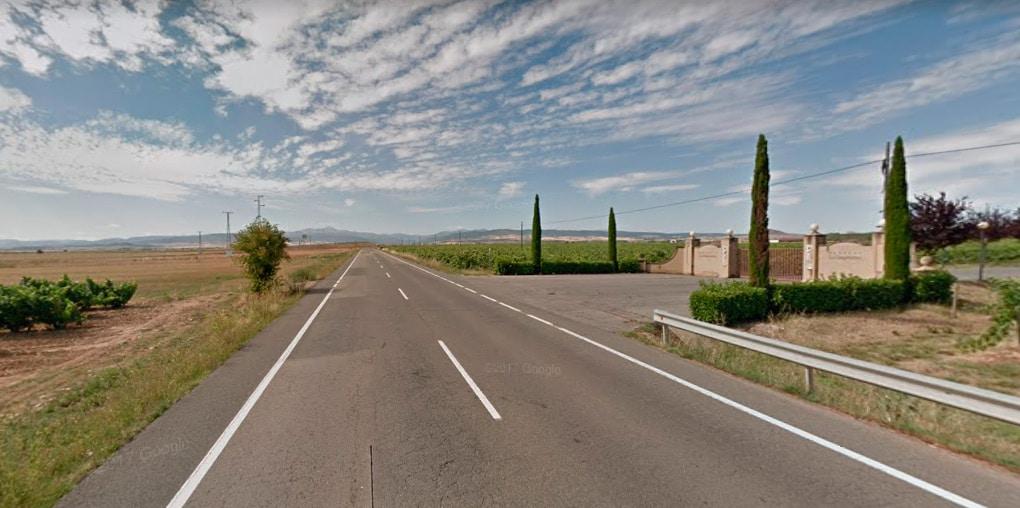 Fallece un cicloturista en Baños de Rioja 1