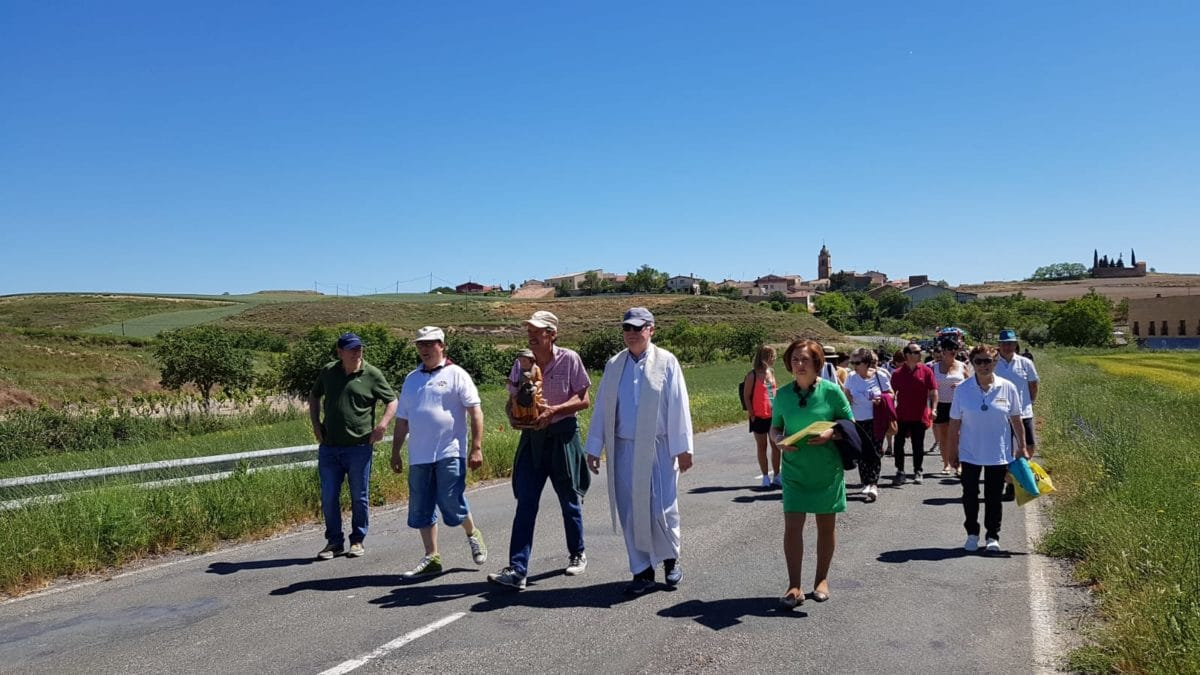Fonzaleche celebró por todo lo alto la romería a la ermita de Junquera 1