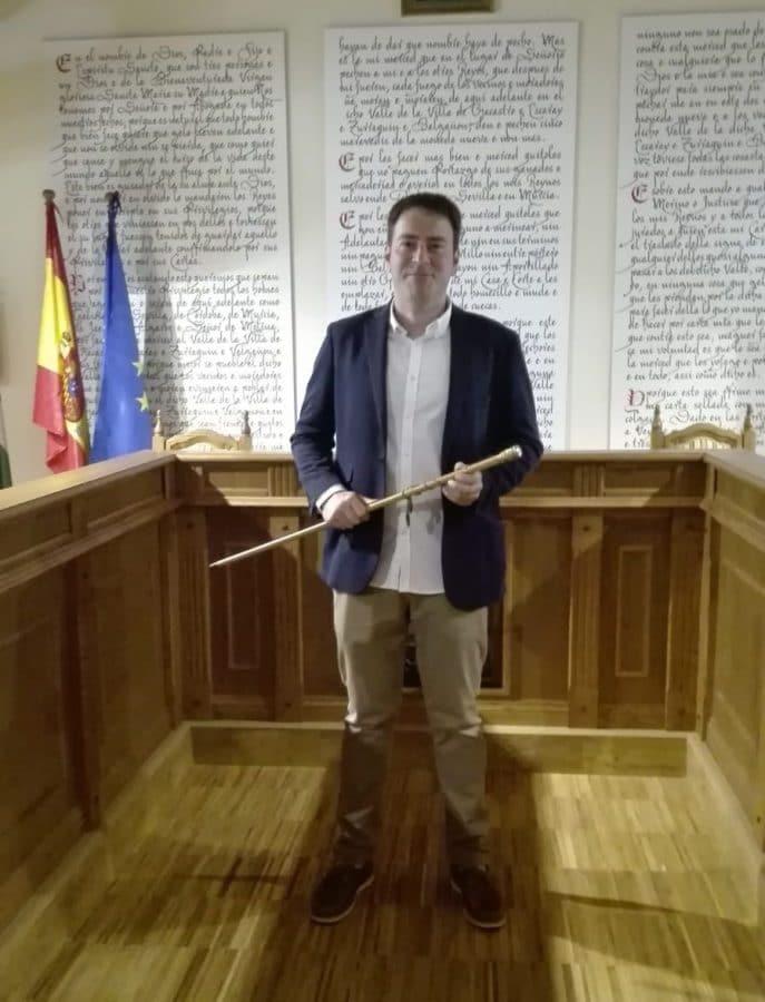 Gonzalo Abajo ya es oficialmente el nuevo alcalde de Ezcaray 3