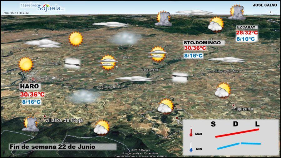 La Rioja estará este domingo en aviso amarillo por altas temperaturas 5