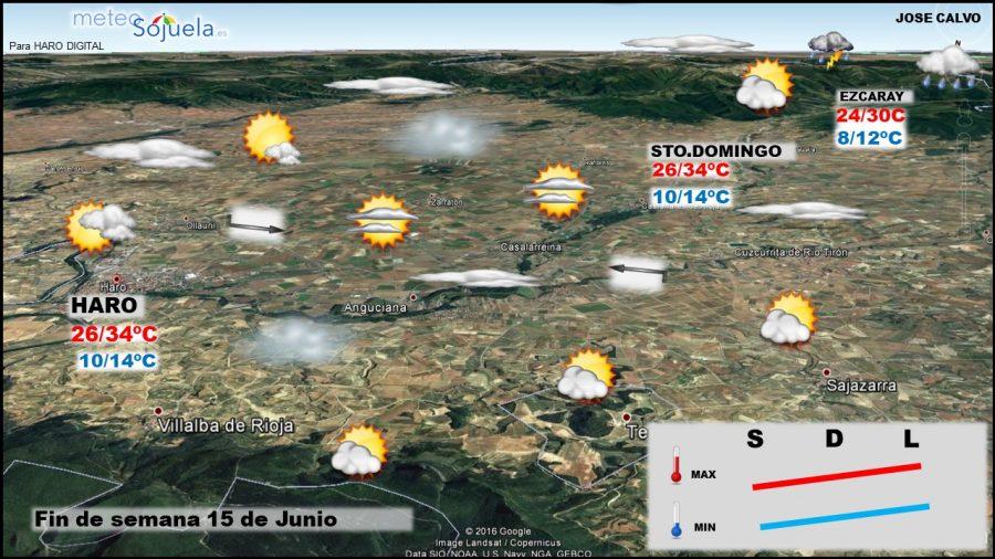 Las altas temperaturas en La Rioja continuarán la próxima semana 2