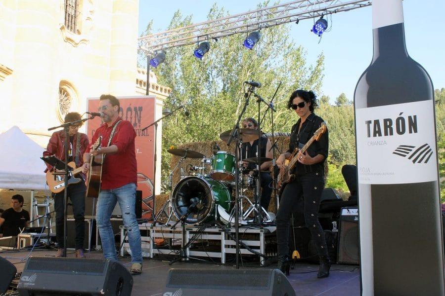 Cuzcurrita bailó y disfrutó con el Tarón Country Festival 1