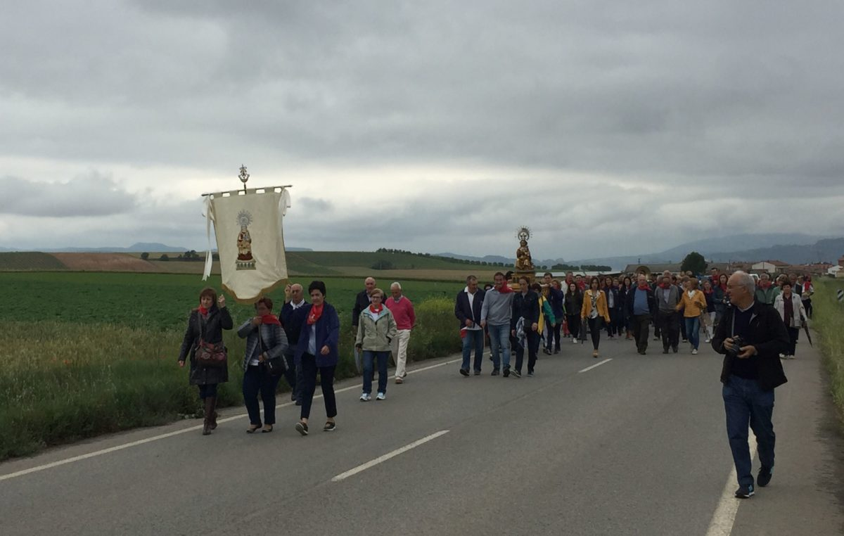 Rodezno celebra este sábado su romería a la ermita de la Virgen de Olartia 3