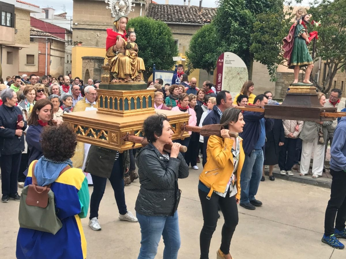 Rodezno celebra este sábado su romería a la ermita de la Virgen de Olartia 5