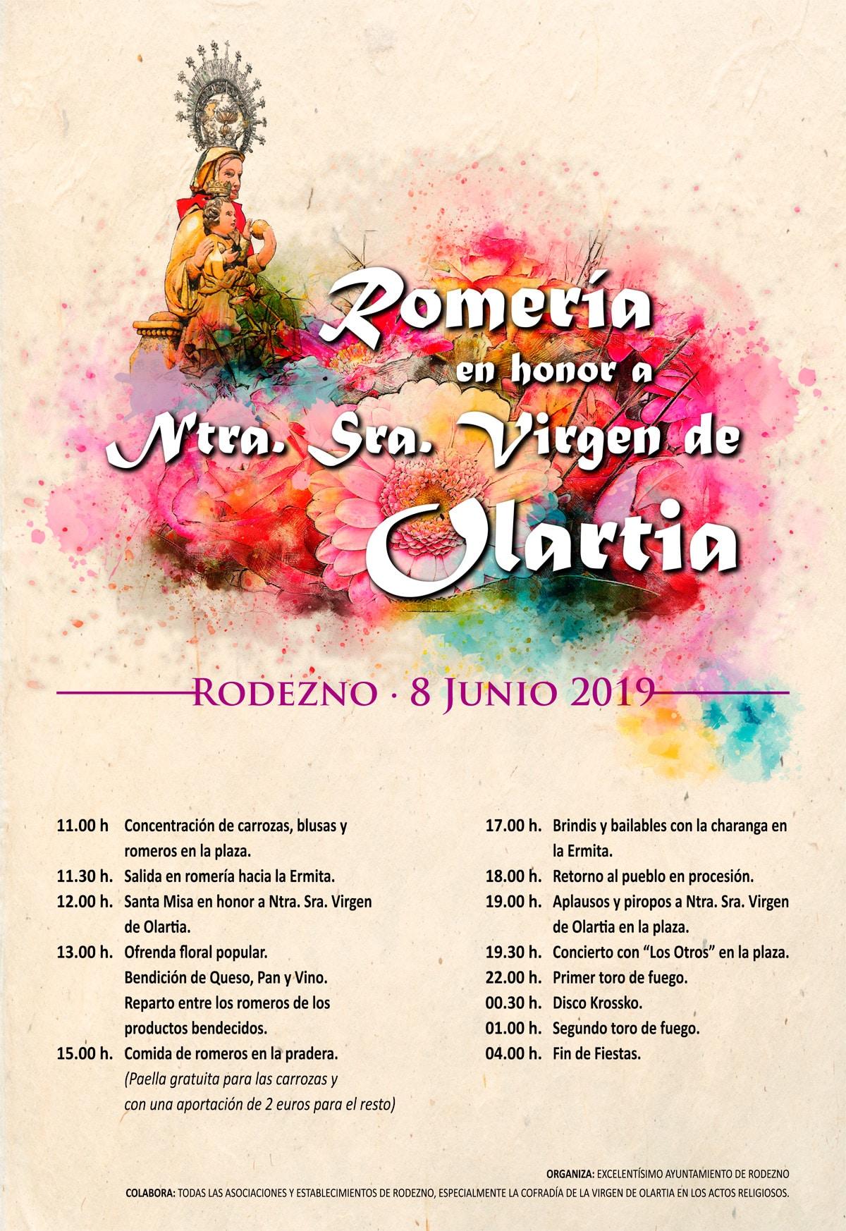 Rodezno celebra este sábado su romería a la ermita de la Virgen de Olartia 8