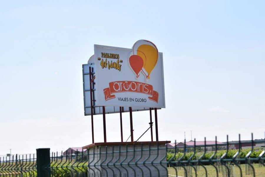 Globos Arcoiris inaugura en Cuzcurrita su base en tierra 3