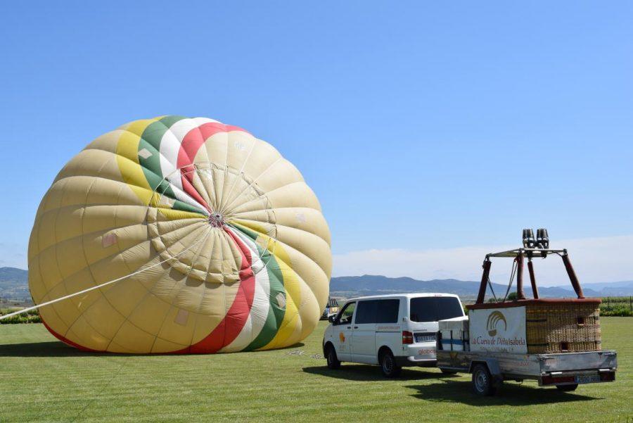 Globos Arcoiris inaugura en Cuzcurrita su base en tierra 9