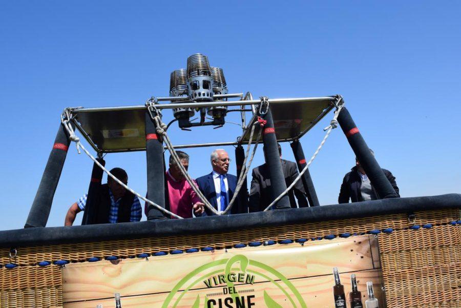 Globos Arcoiris inaugura en Cuzcurrita su base en tierra 14