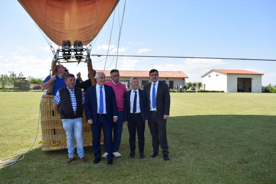 Globos Arcoiris inaugura en Cuzcurrita su base en tierra 17