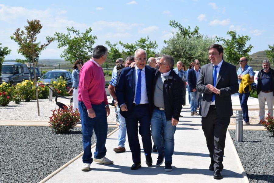 Globos Arcoiris inaugura en Cuzcurrita su base en tierra 7