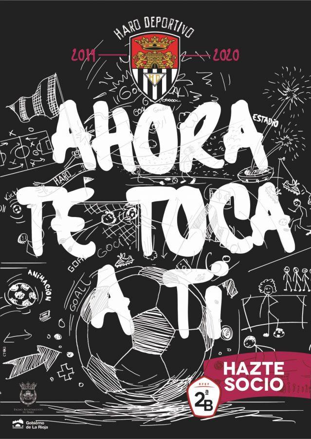 El Haro Deportivo lanza la campaña de socios con el lema 'Ahora te toca a ti' 1