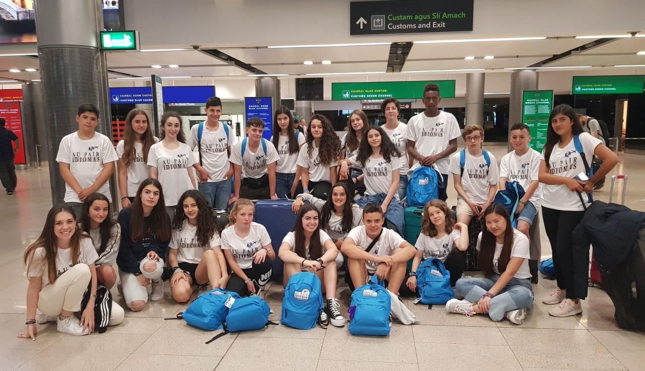 75 estudiantes disfrutan en el extranjero de los programas junior de AupairIdiomas 1
