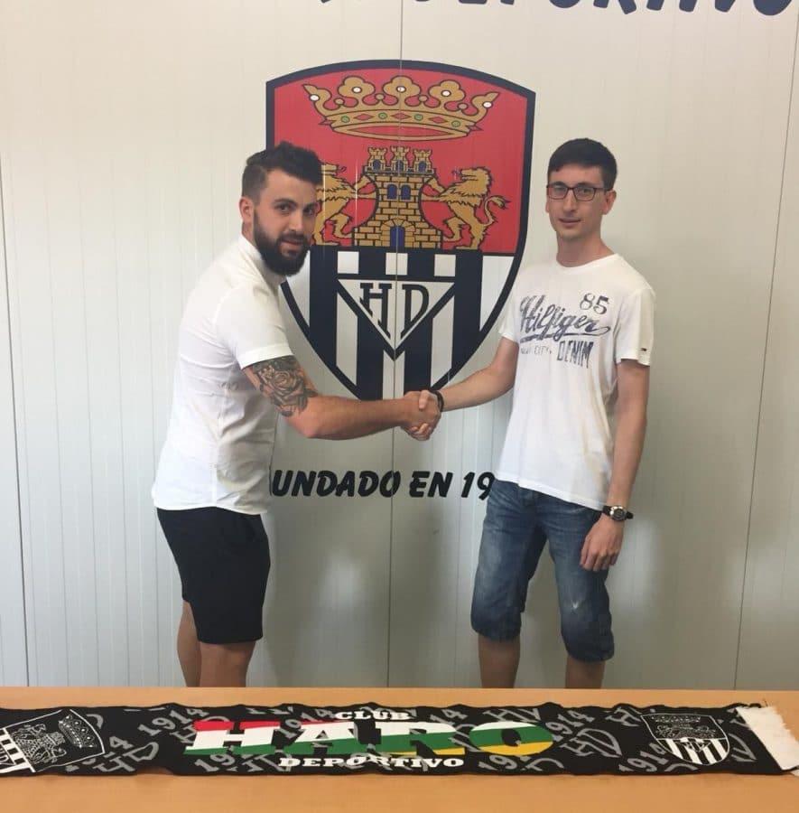 El Haro Deportivo inicia la pretemporada y anuncia el regreso de Aimar 1